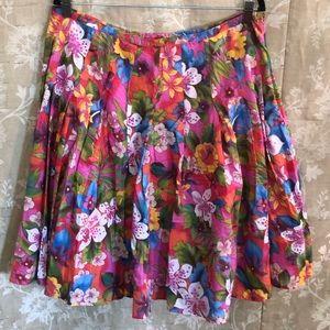 BillBlass Floral Skirt